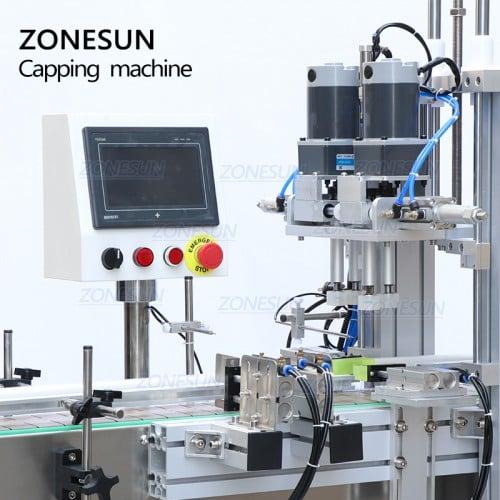 ZONESUN Full Automatic Bottle Capping Machine