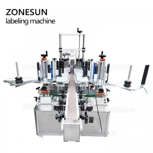 ZONESUN ZS-TB600 Full Automatic Flat Surface Labeling Machine