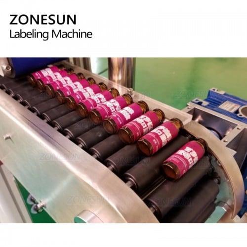 ZONESUN ZS-TB823 Full Automatic Round Bottle Labeling Machine