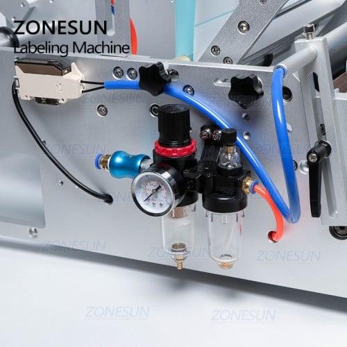 ZONESUN ZS-801 Automatic Round Bottle Labeling Machine