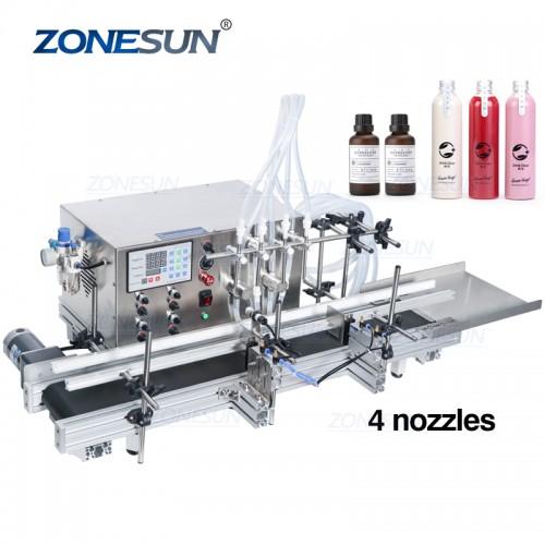 ZONESUN Automatikus mágneses szivattyú Folyadéktöltő Machine