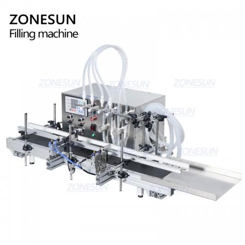 ZONESUN Automatic Magnetic Pump Liquid Filling Machine