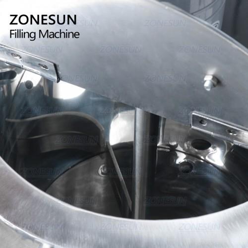 ZONESUN Heating Stirring Lipstick Filling Machine