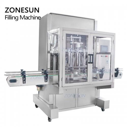 ZONESUN ZS-SV4G Automatic Paste Servo Filling Machine